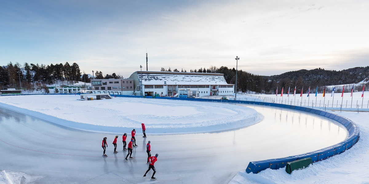 Fastest outdoor Ice Rink in the world